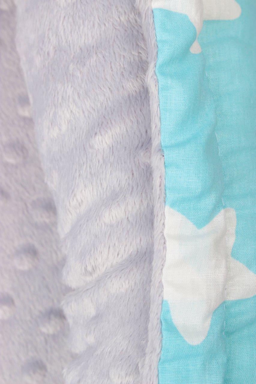 фото подушки-позиционера для сна AmaroBaby кокон-гнездышко, PRESTIGE BABY в цвете Небо в звездах