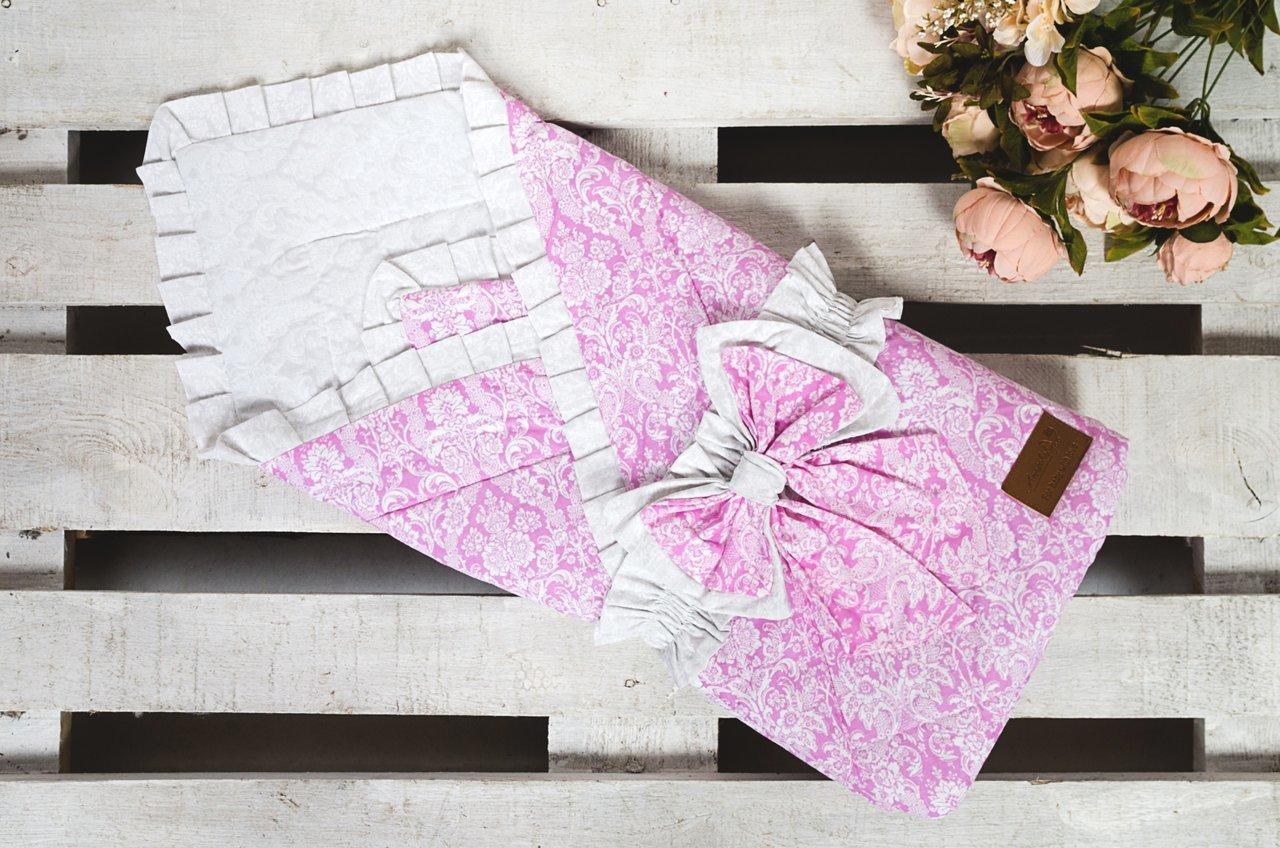фото одеяла на выписку AmaroBaby ЭЛИТ в цвете Розовый
