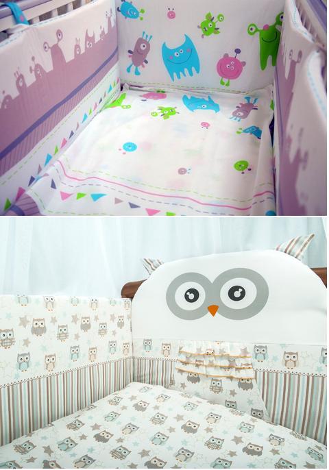 белье для новорожденного в кроватку