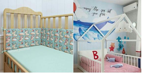 матрас для кроватки с новорожденным