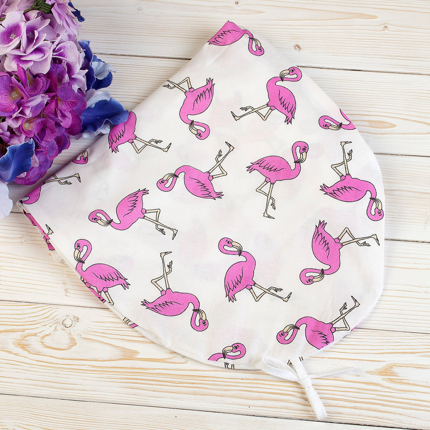 "фото наволочки к подушке для беременных AmaroBaby 170х25 в цвете ""Фламинго"""