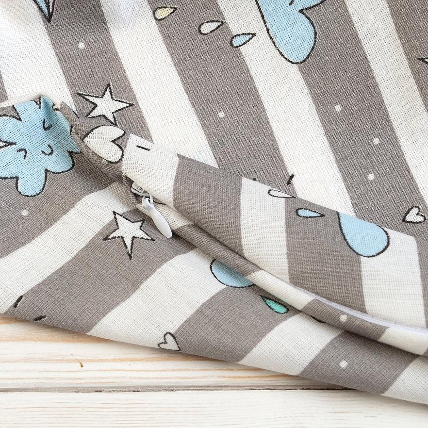"""фото наволочки к подушке для беременных AmaroBaby U-образная 340х35 в цвете """"Радуга"""""""
