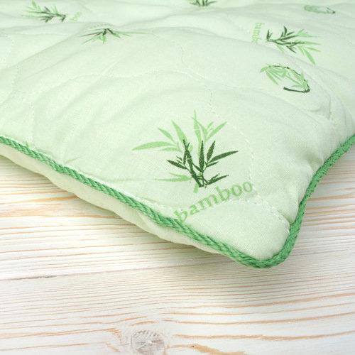 фото подушки стеганой детской с кантом AmaroBaby СЛАДКИЙ СОН Бамбук, поплин 40х60