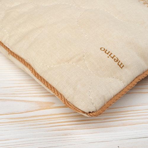 фото подушки стеганой детской с кантом AmaroBaby СЛАДКИЙ СОН Шерсть, поплин 40х60