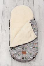 фото конверта мехового универсального AmaroBaby LITTLE TRAVELER 105х45 РЫЦАРЬ