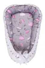 фото позиционера для сна AmaroBaby кокон-гнездышко, LITTLE BABY в цвете Балерины