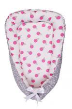 фото позиционера для сна AmaroBaby кокон-гнездышко, LITTLE BABY в цвете Мороженки