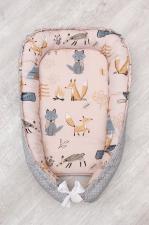фото подушки-позиционера для сна AmaroBaby кокон-гнездышко, LITTLE BABY в цвете Чудо
