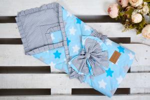 Одеяло на выписку AmaroBaby HAPPY (Прянички)