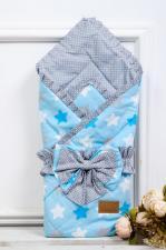 фото одеяла на выписку AmaroBaby HAPPY в цвете Прянички