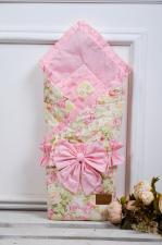 фото одеяла на выписку AmaroBaby HAPPY в цвете Сказка розовый