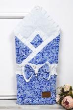 фото одеяла на выписку AmaroBaby ЭЛИТ в цвете Синий