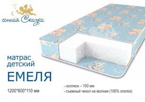 "фото матраса ""Емеля эконом"" 1200х600"