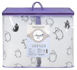 Подушка для беременных AmaroBaby U-образная 340х35 (Овечки)