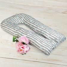 """фото подушки для беременных AmaroBaby U-образная 340х35 в цвете """"Радуга"""""""