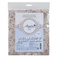 Наволочка к подушке для беременных AmaroBaby 34х170 (Дамаск кофе)