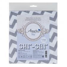 Наволочка к подушке для беременных AmaroBaby 34х170 (Зигзаг вид серый)
