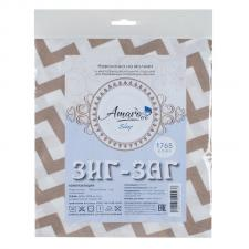 Наволочка к подушке для беременных AmaroBaby 34х170 (Зигзаг кофе)