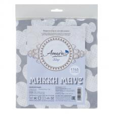 Наволочка к подушке для беременных AmaroBaby 34х170 (Мышонок вид серый)