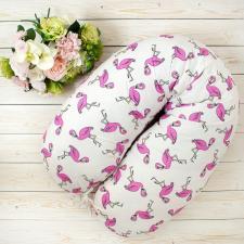 Наволочка к подушке для беременных AmaroBaby 170х25 (Фламинго)