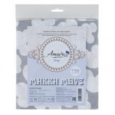 Наволочка к подушке для беременных AmaroBaby U-образная 340х35 (Облака вид серый)