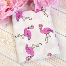 Наволочка к подушке для беременных AmaroBaby U-образная 340х35 (Фламинго)