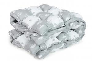 Одеяло-Бонбон AmaroBaby Royal Care (Серый)